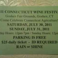 CT Wine Festival entrance ticket