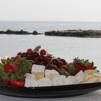 Our Fruit & Cheese Platter