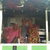 The Gang at Little Sister's Grilled Cheese Truck