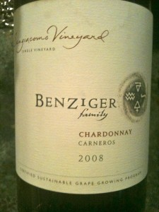 Sustainable grape growing at Benziger